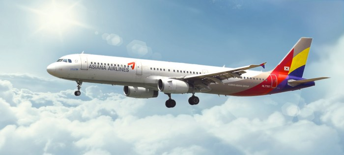 Asiana Airlines Mileage Points International Travel Chart