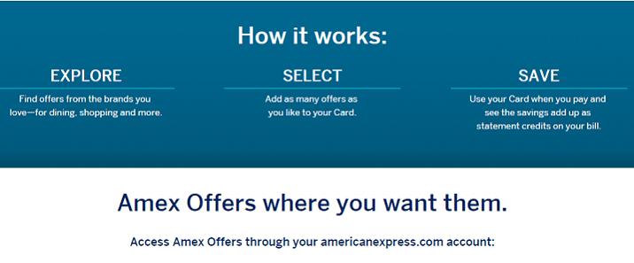 AMEX Offer 使用指南【7/21更新:近期bug汇总,老版登录链接】