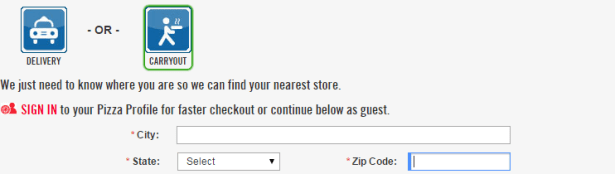 """""""Closed"""" to win free pizza and Amazon"""