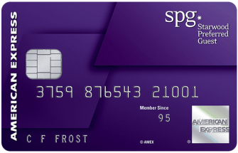 AMEX Starwood Preferred Guest Credit Card [7/18 Update: double cashback registration link, ymmv]
