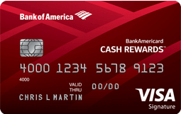 BOA Cash Rewards Card (0 sign up bonus, 321 cashback, no fee)