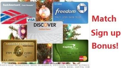 各银行信用卡Match开卡奖励总结