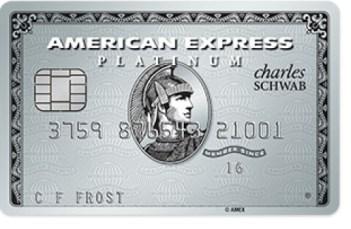 AMEX Platinum (Schwab) credit card introduced