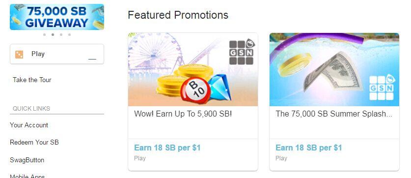 Swagbucks 赚钱指南——小钱大玩【6/2更新:兑ebay/bass pro额外折扣】