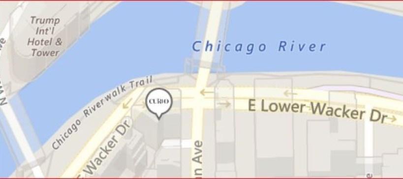 芝加哥希尔顿酒店(London House, Curio Collection)体验报告