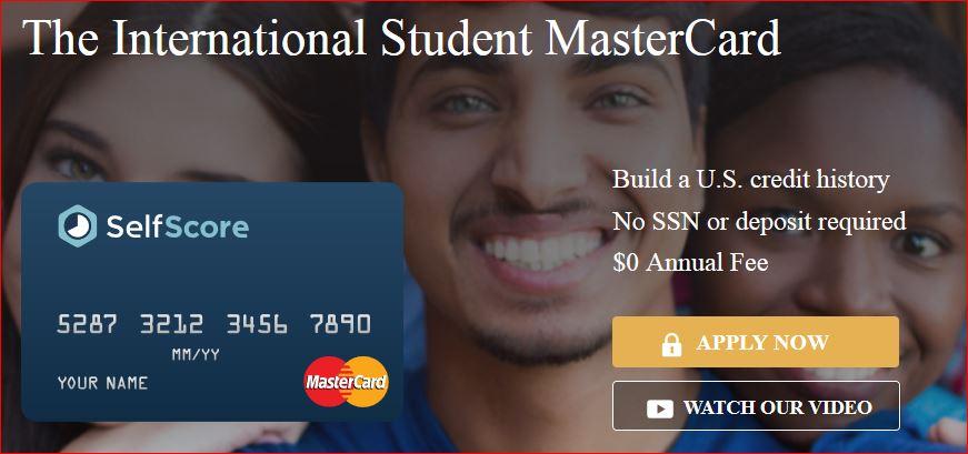 Self Score Classic MasterCard 针对国际留学生设计的信用卡!【已转卡,已经不能申请】