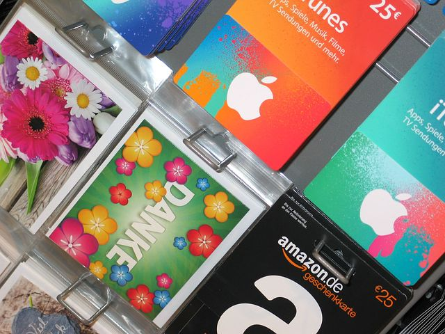 商家出售第三方礼品卡(Gift Card)情况总结【7/12更新:Amazon开卖VGC】
