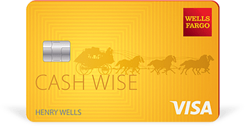 Wells Fargo Cash Wise credit card limit [0] reward