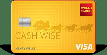 Wells Fargo Cash Wise credit card limit [0] reward