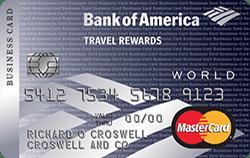 BOA Travel Rewards 商业信用卡【开卡送0】