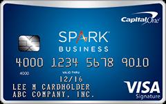 Capital One Spark Miles 商业信用卡【开卡送0+首年免费】