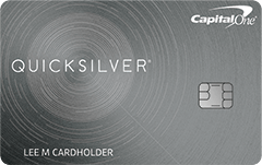 Capital One Quicksilver Cash Rewards 信用卡【8/17更新:0开卡奖励链接】