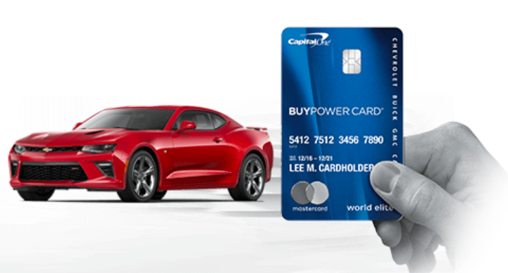 Capital One GM BuyPower 信用卡【所有消费5%返现,用于买车】