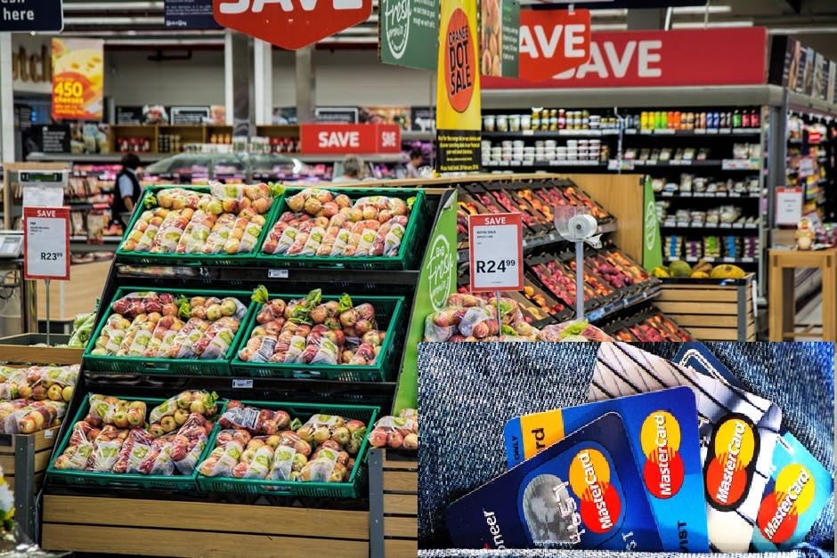 Supermarket to buy food (Grocery) Credit Card Comparison