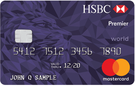 HSBC Premier World Mastercard 信用卡【开卡送40k积分】