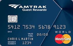 BOA Amtrak Guest Rewards 信用卡及点数兑换介绍