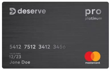 Deserve Pro Mastercard信用卡 (无年费卡+开卡奖励)