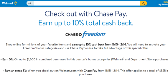 Chase Pay 活动汇总【12/8更新:ebags最新DP】