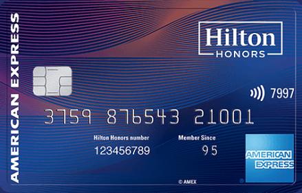 AMEX Hilton Aspire 信用卡【10/26更新:消费额外送40k积分,附注册链接】