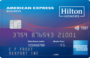 AMEX Hilton Business 商业信用卡【1/18更新:新版本上线,100k开卡奖】