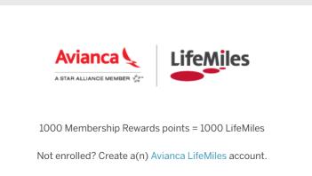 Membership Rewards(MR)使用指南【11/12更新:增加Avianca的Lifemiles 1:1转点】