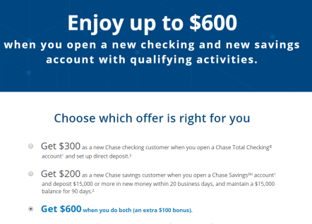 Chase Checking Saving 支票和储蓄账户介绍【10/16更新:开户最高送0/60k,升级可获60k UR】