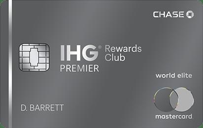 Chase IHG Premier Credit Card【80k开卡奖励】