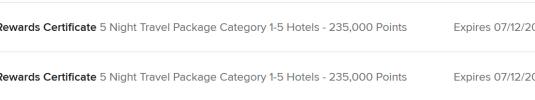 万豪大礼包(Marriott Travel Packages)全攻略(2):攒点和妙用【12/6更新:5晚小礼包后续处理事项】