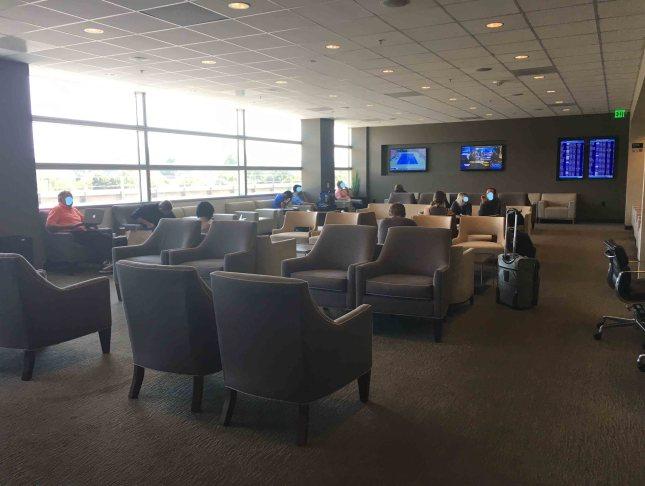 The Club Lounge@San Jose(SJC)机场休息室体验