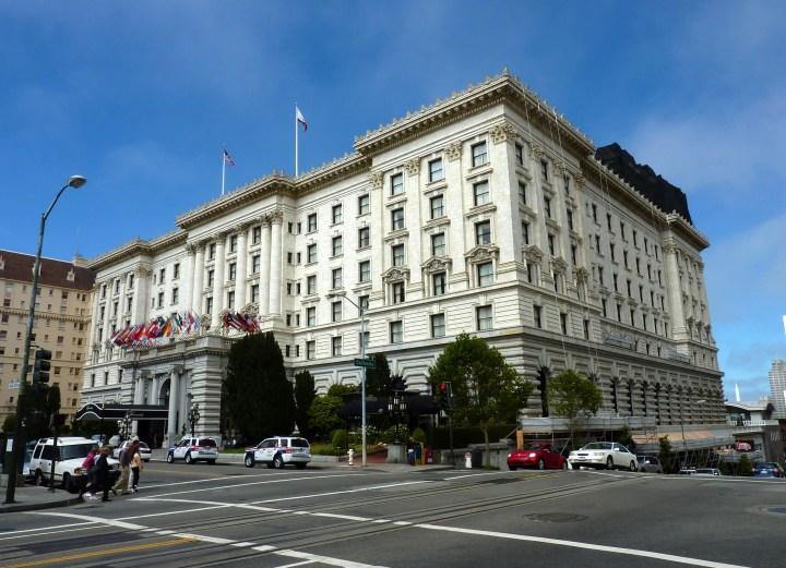 你可以用 Expedia+ 点数来兑换 Fairmont San Fransico