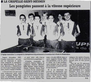 La République du Centre : 1997