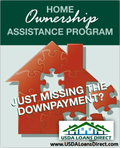 Down Payment Assistance | www.USDALoansDirect.com