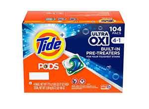 Tide PODS Ultra Oxi Liquid Detergent 104 Pacs