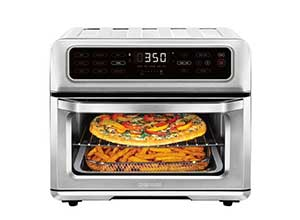 Chefman Dual-Function Air Fryer Toaster Oven