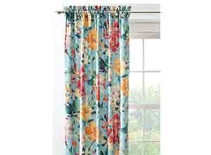 Semi Opaque Garden Bloom 84 in Curtain