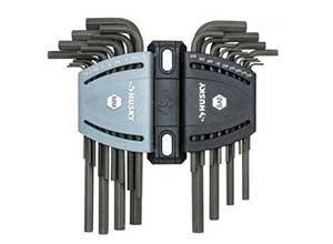 SAE Metric Long Arm Hex Key Set