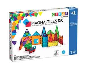 Magna Tiles 48 Piece Clear Colors DELUXE Set