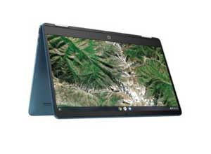 HP 14inch 2 in 1 Touch Teal Chromebook