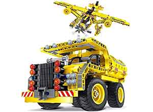 2in1 STEM Construction Engineering Building Kits