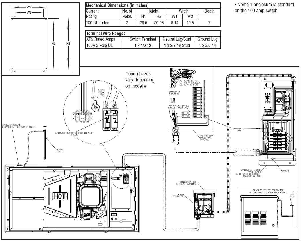 Generac Automatic Transfer Switch Wire