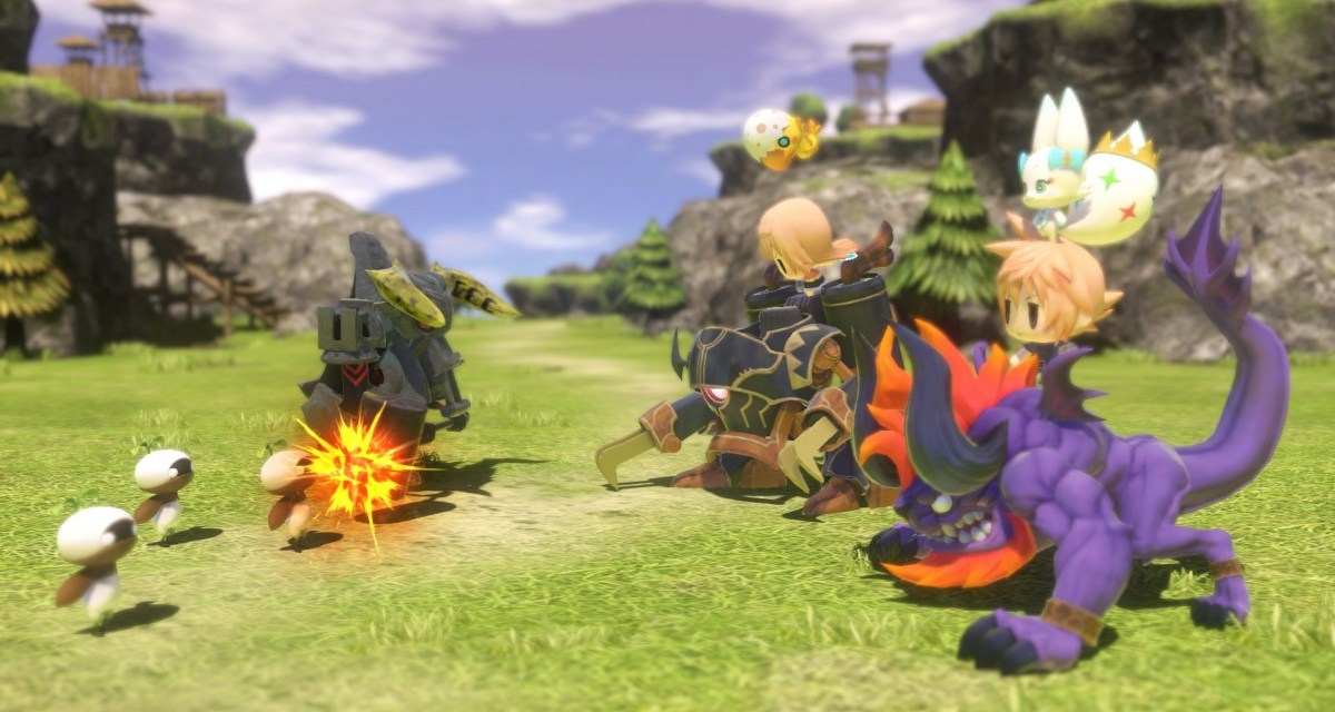 E3 2015 – World Of Final Fantasy coming 2016