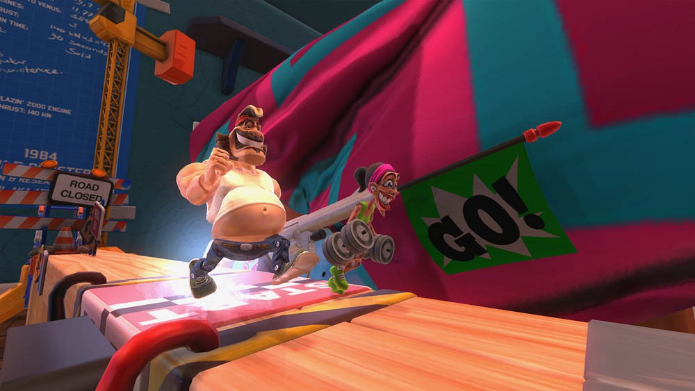 Toy inspired speed racer Action Henk coming to consoles later this year
