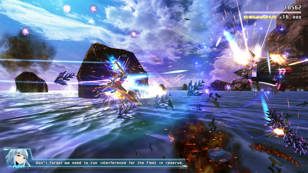 Side-scrolling, vertical, every angle shooter Astebreed coming to Playstation 4 in June