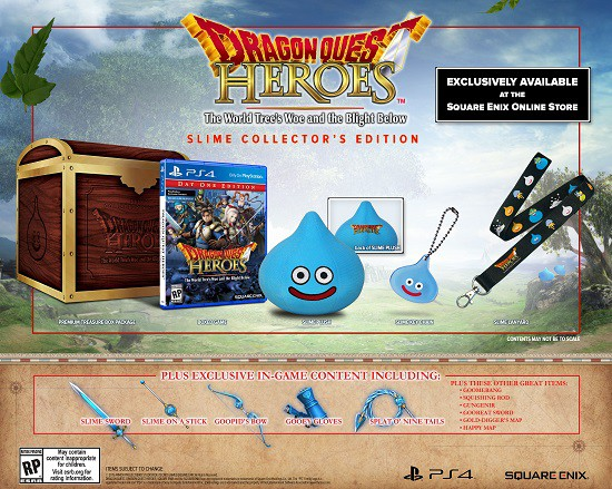 Dragon Quest Heroes Slime Collectors Edition