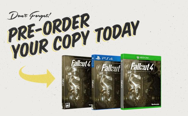 Fallout 4 Preorder