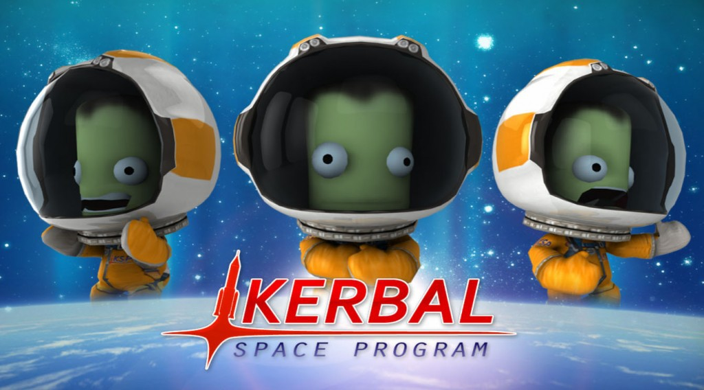 Kerbal Space Program landing on Playstation 4