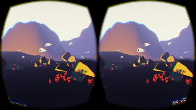 VR is coming Shape Of The World – back the game on Kickstarter