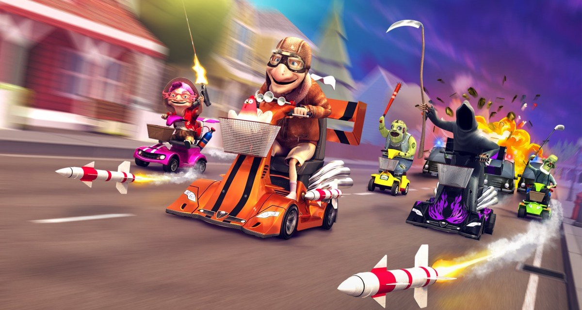 Race for your life (literally) in Coffin Dodgers – arriving on consoles in 2016