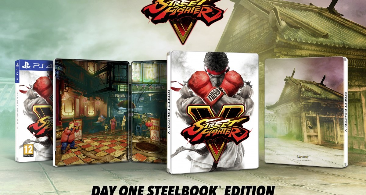 Day One steelbook edition confirmed for Street Fighter V