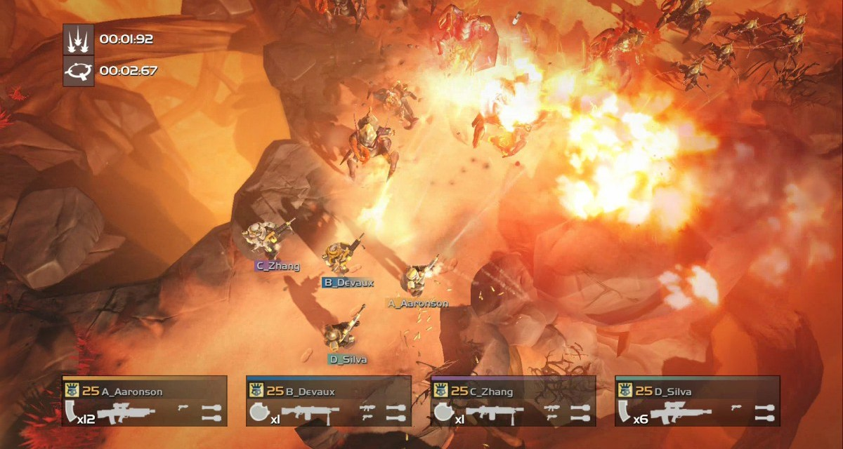 Twin-stick shooter Helldivers hitting PC in December